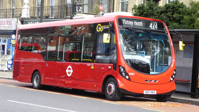 P1010796 WS81 SK17 HKA at Putney Station Putney Hill Putney London