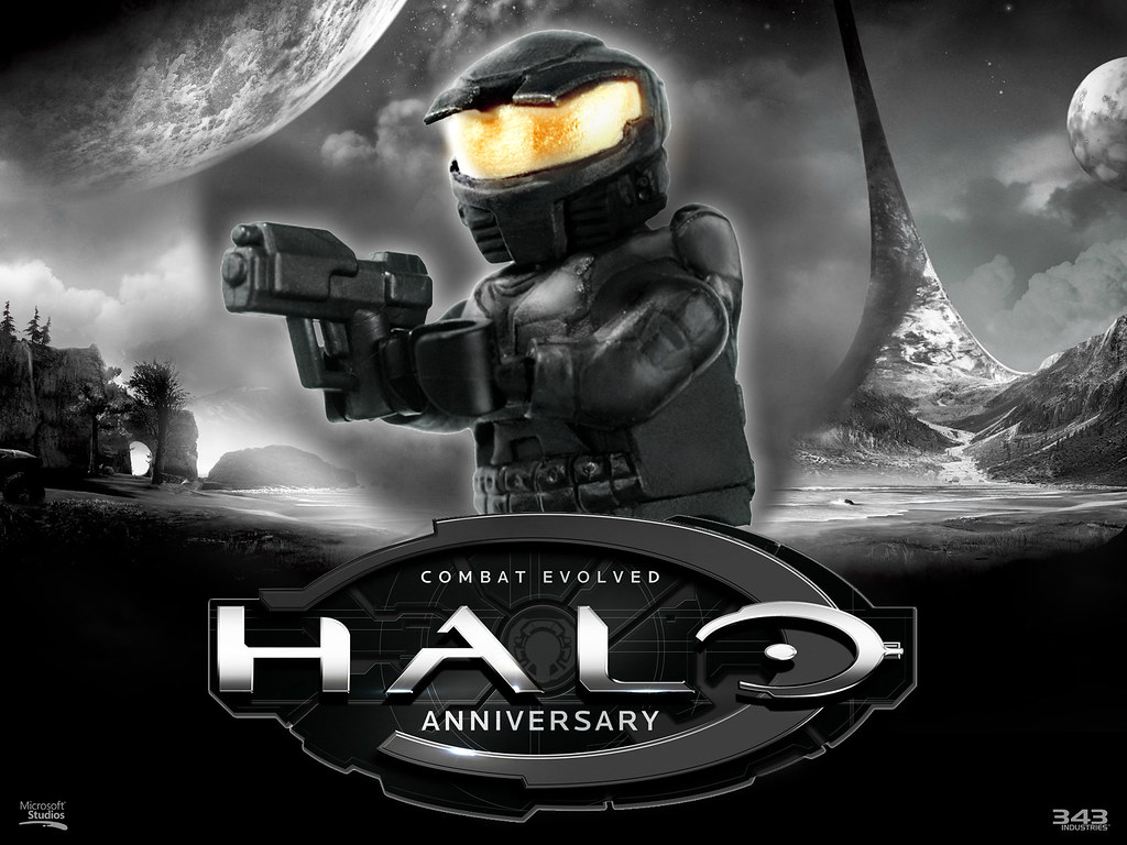 Lego Halo Combat Evolved Master Chief This Is Just A Rea