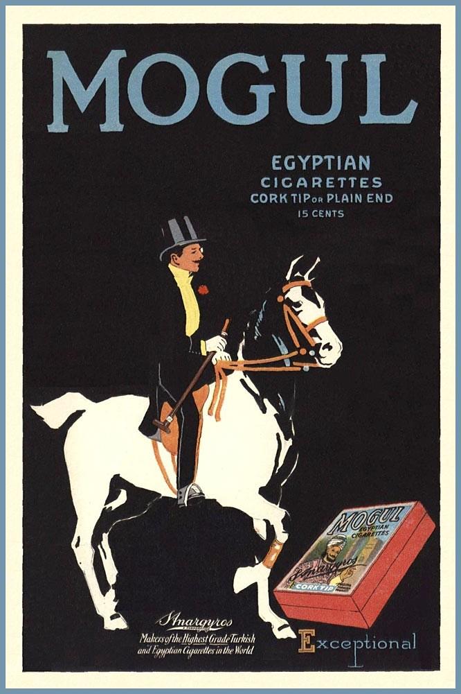 Mogul Cigarettes -1916 - www.magazineart.orgmain.phpvadstobaccocigarettes