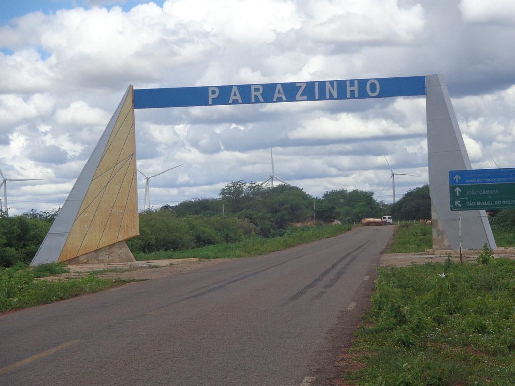 Parazinho - Pórtico na entrada da cidade | Parazinho - Pórti… | Flickr