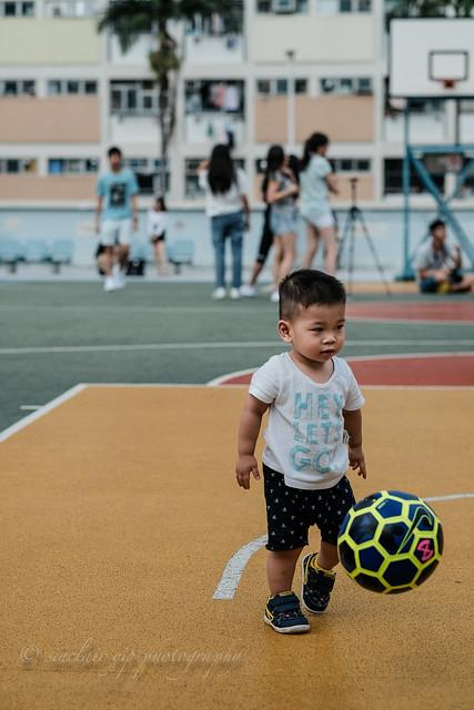future soccer player