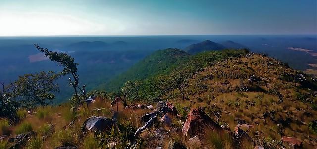 mountains of Lavushi Manda National Park, Zambia
