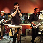 Thu, 24/08/2017 - 7:49am - Grizzly Bear broadcast on WFUV Public Radio from Electric Lady Studios in New York City, 8/24/17. Photo by Gus Philippas/WFUV