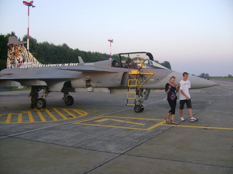 Saab JAS-39C flus 1