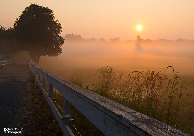 Smoky / Foggy Sunrise