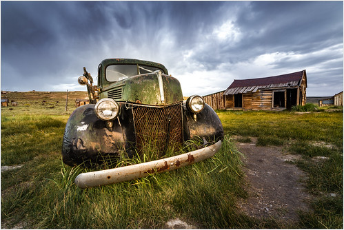 rusted california auto 2017 outdoors sunset abandoned old truck bodie sky glow car weather field clouds automobile bridgeport unitedstates us