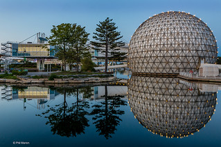 Cinesphere at dusk - Toronto | by Phil Marion (176 million views - THANKS)