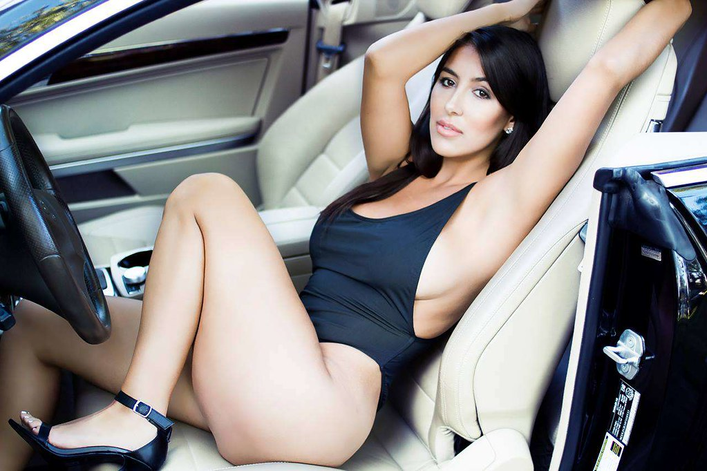 Sexy Car Model Full Hd Car Wallpapers 1920x1080 Download
