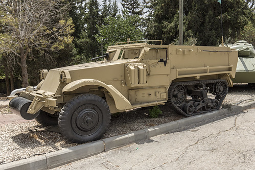 M3 Half-track upgraded