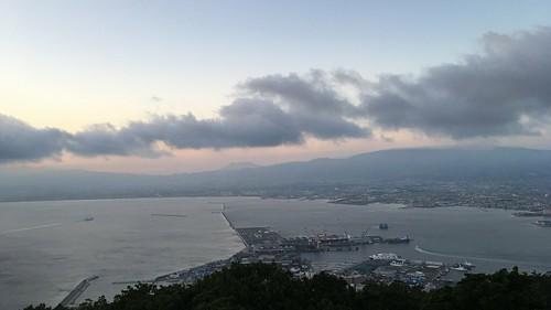 sunset port harbour hakodate hokkaido japan photoscapex
