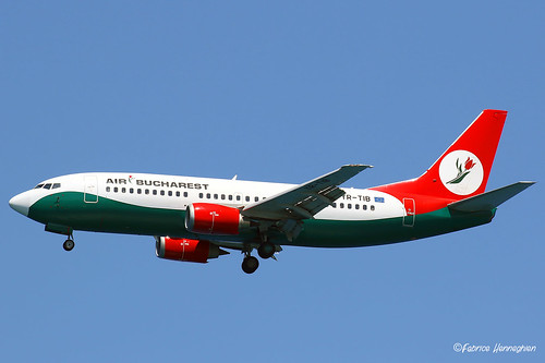YR-TIB Air Bucharest Boeing 737-3L9 | by Planes , ships and trains!