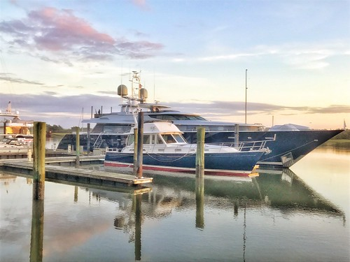 marc714 boat yacht beaufort nc sunset sobx