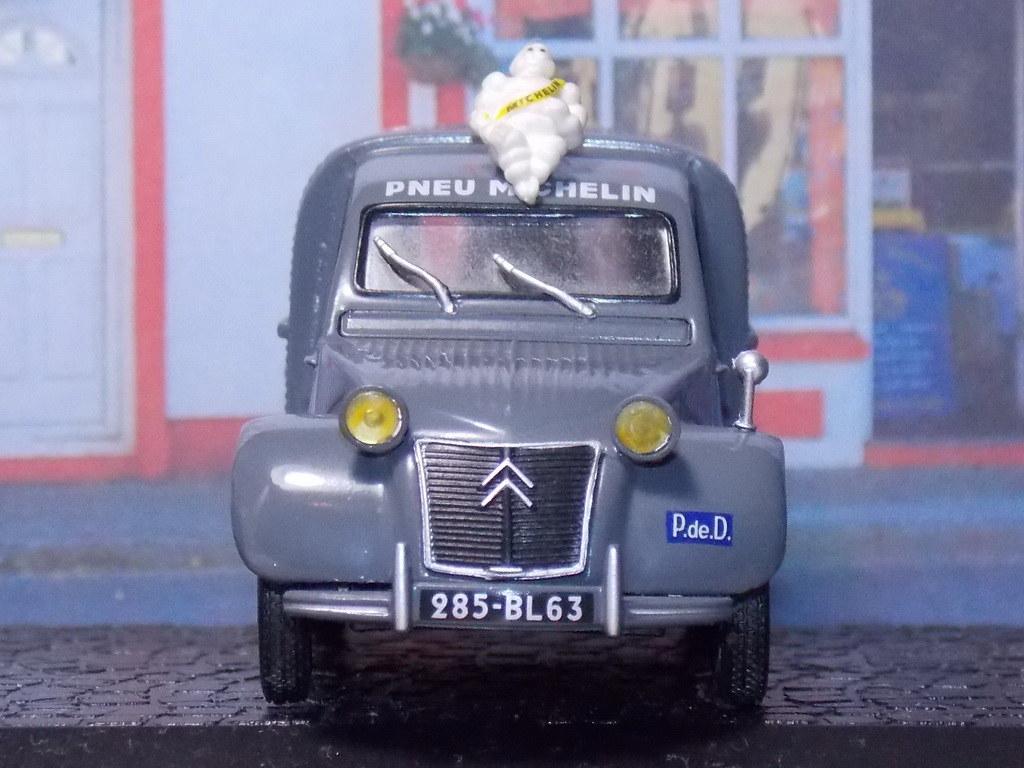 Citroën 2CV Fourgonette – Michelin - 1955