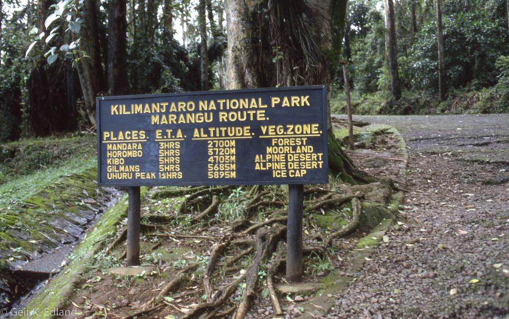 Kilimanjaro - Marangu route huts