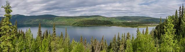 Dease Lake Panorama