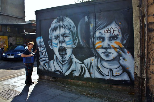 Shoreditch Street Art - June 2017 - The Gruesome Twosome - The Evil Eye | by Gareth1953 All Right Now