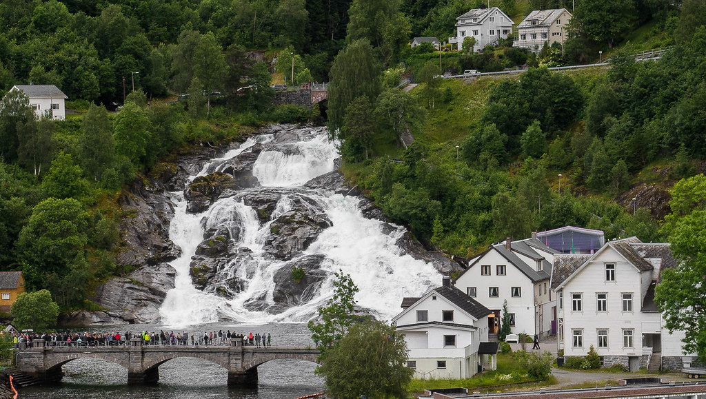 The Falls at Hellesylt | Julian Chilvers | Flickr