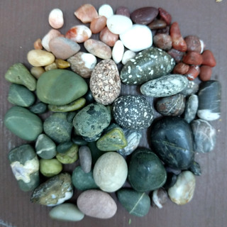 Pebbles from Pebble Beach | by Ruth and Dave