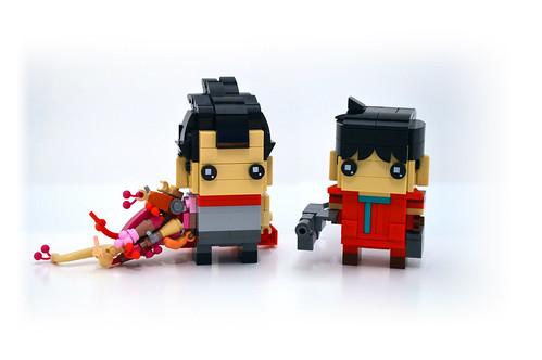 Tetsuo and Kaneda
