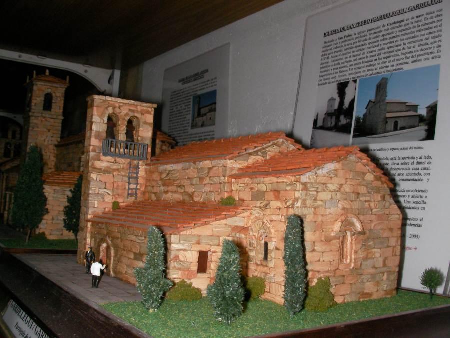 Maquetas de las Iglesias de Álava