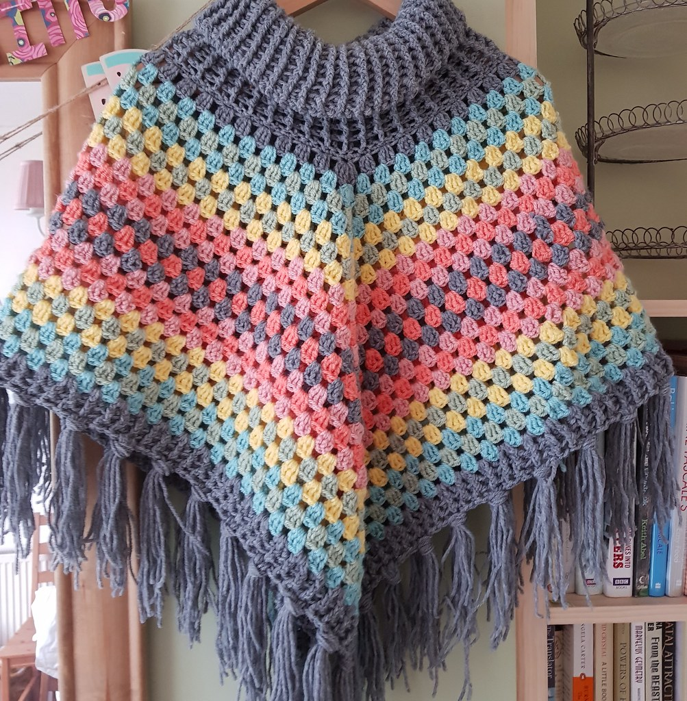 Crochet Cowl Neck Poncho Blogged Love This Stacey Siddons Flickr