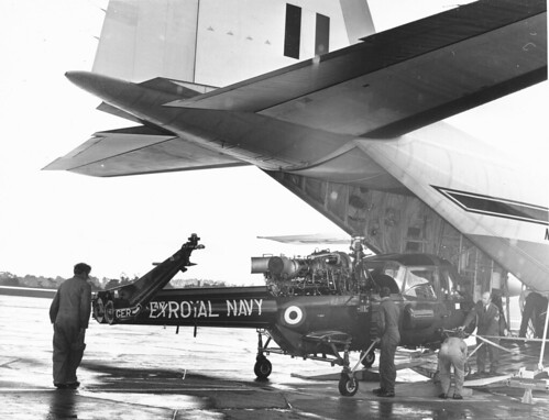 Wasp XT417 unloading from Herc | by lesbillcliff