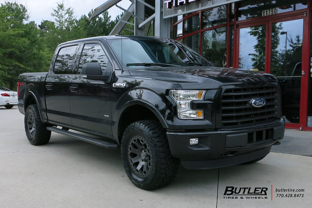 Ford F150 Wheels >> Ford F150 With 20in Black Rhino Warlord Wheels And Toyo Op