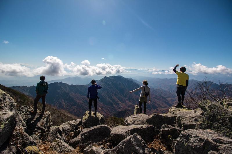 高妻山の集合写真