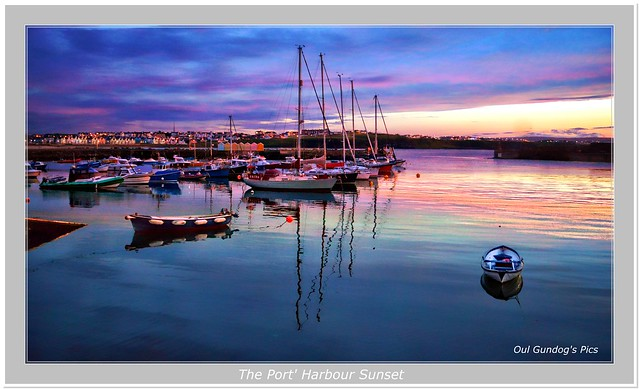 The Port' Harbour Sunset
