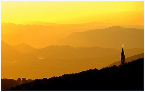 nikon italia lazio tramonto giallo montagna rieti terminillo hanks