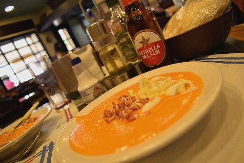 Salmorejo, traditional Andalusian soup | by Nicolay Abril