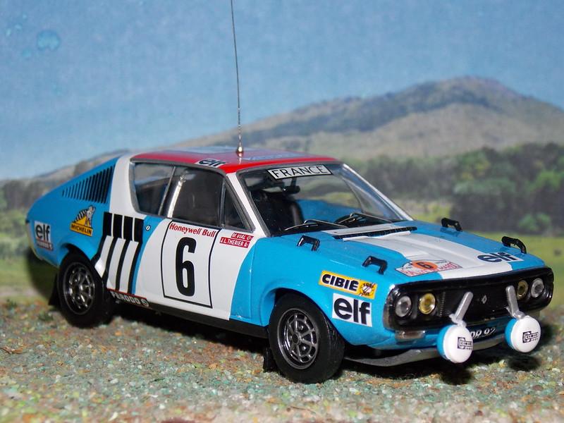 Renault 17 Gordini - Marruecos 1974