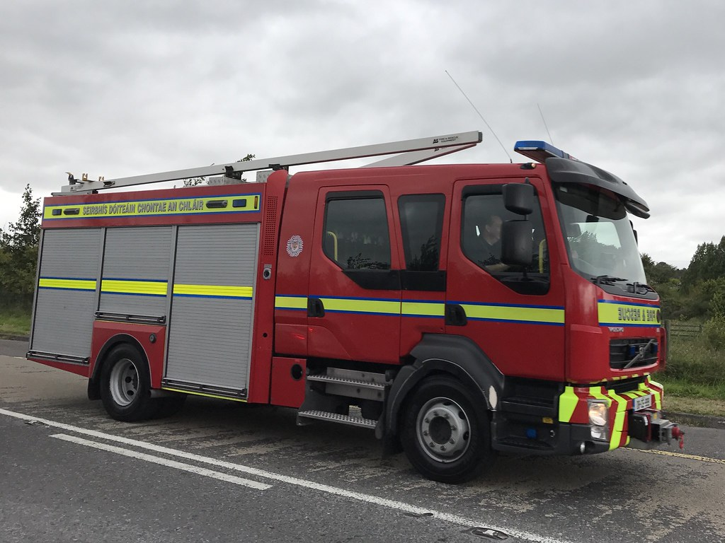 Volvo Fire Appliance Clare County Fire Service Ennis F