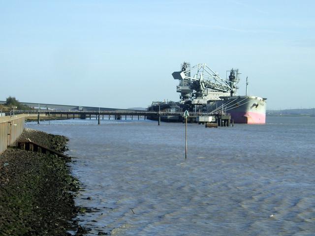 The Thames at Tilbury