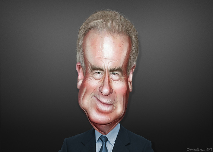 Bob Mercer - Caricature