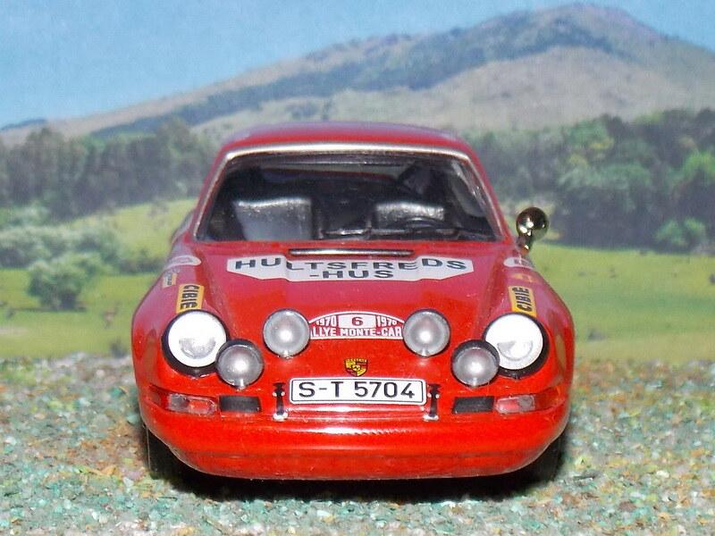 Porsche 911 S – Montecarlo 1970