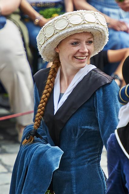 Landshuter Hochzeit 2017 - Adelige Dame 4