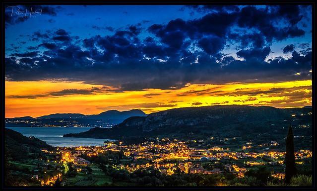 Garda sunset