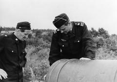 Merivartijat tykin luona Bomarsundissa 1962
