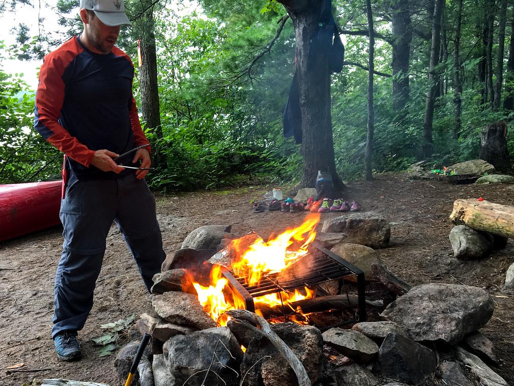 Bacon fire