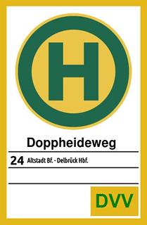 haltebord DD B24 nach Delbrück Hbf | by neudalhausenstadbahn