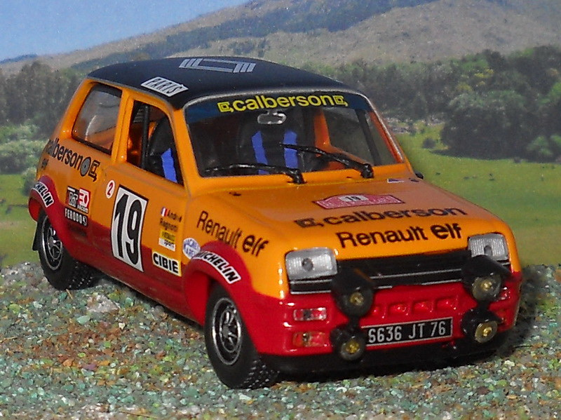 Renault 5 Alpine – Montecarlo 1978