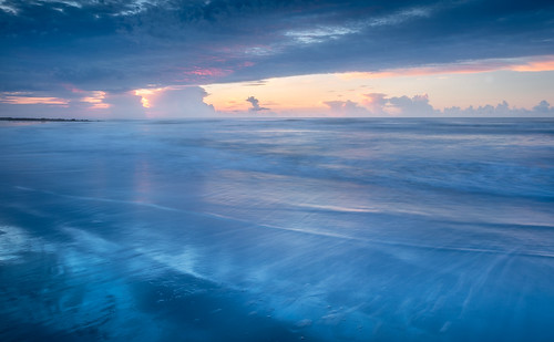 canon charleston follybeach southcarolina summer beach beautiful blue clouds color cool dreamy landscape light nature reflection seascape shore sunrise twilight water waves cloudscape