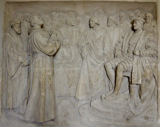 Martin Luther before Charles V at the Diet of Worms by Gerhard Janensch 1904
