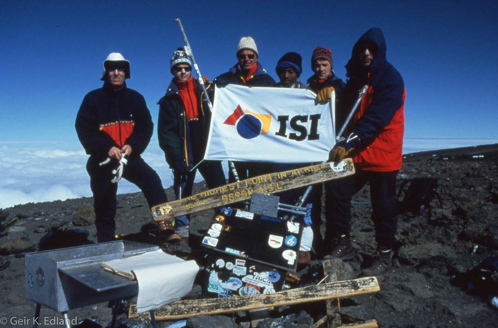 Kilimanjaro - Uhuru Peak - Summit