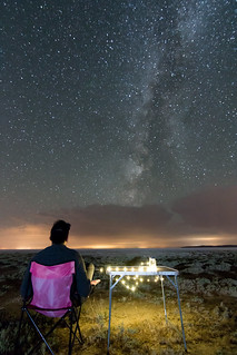 Staring at the milkyway