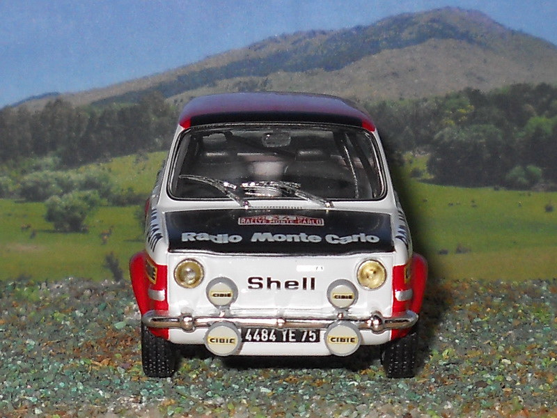 Simca 1000 Rallye 2 – Montecarlo 1973