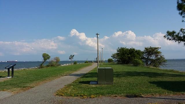 Monitor Merrimac Overlook park