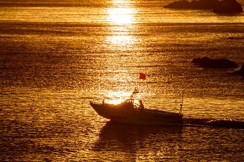 豊岡市 兵庫県 japan 城崎 日和山 日の出 sunrise 海 seashore 日本海
