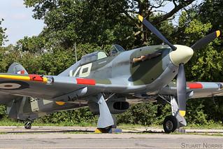 Hurricane IIb BE505 G-HHII - Hangar 11 Collection North Weald | by stu norris